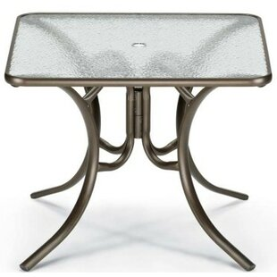 Telescope Casual Obscure Acrylic Square Dining Table