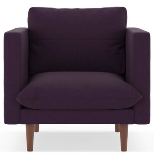 Cowie Cross Weave Armchair by Corrigan Studio