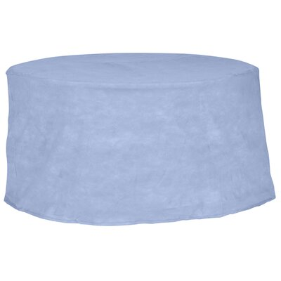 Freeport Park Aaden Round Patio Table Cover Color: Blue, Size: 36 W x 36 D