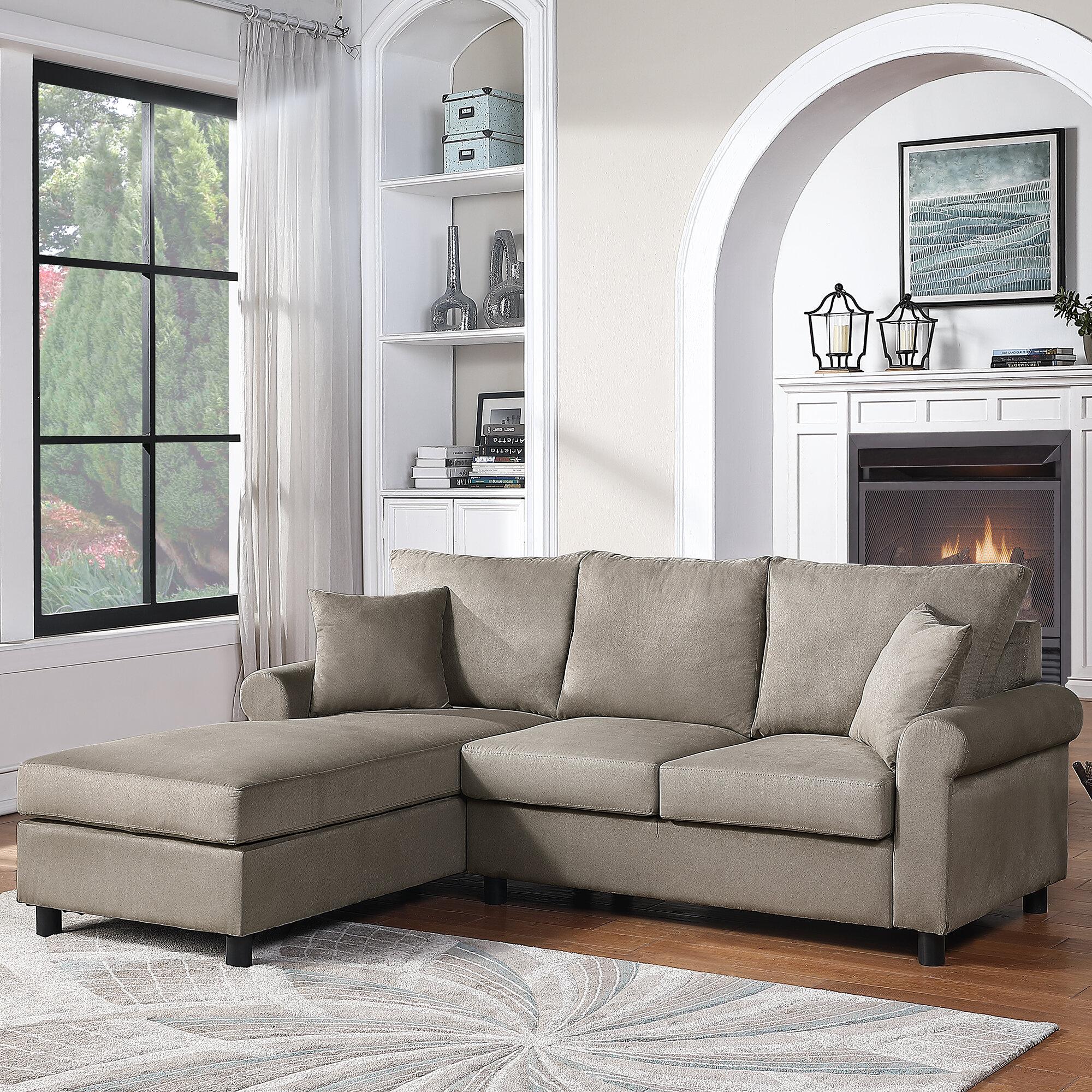 Red Barrel Studio Destoni 85 Wide Left Hand Facing Sofa Chaise Wayfair