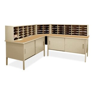 60 Compartment Mailroom Organizer by Marvel Office Furniture