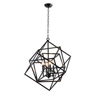Brayden Studio Ellenboro 4-Light Pendant