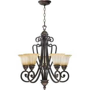 Quorum Summerset 5-Light Shaded Chandelier