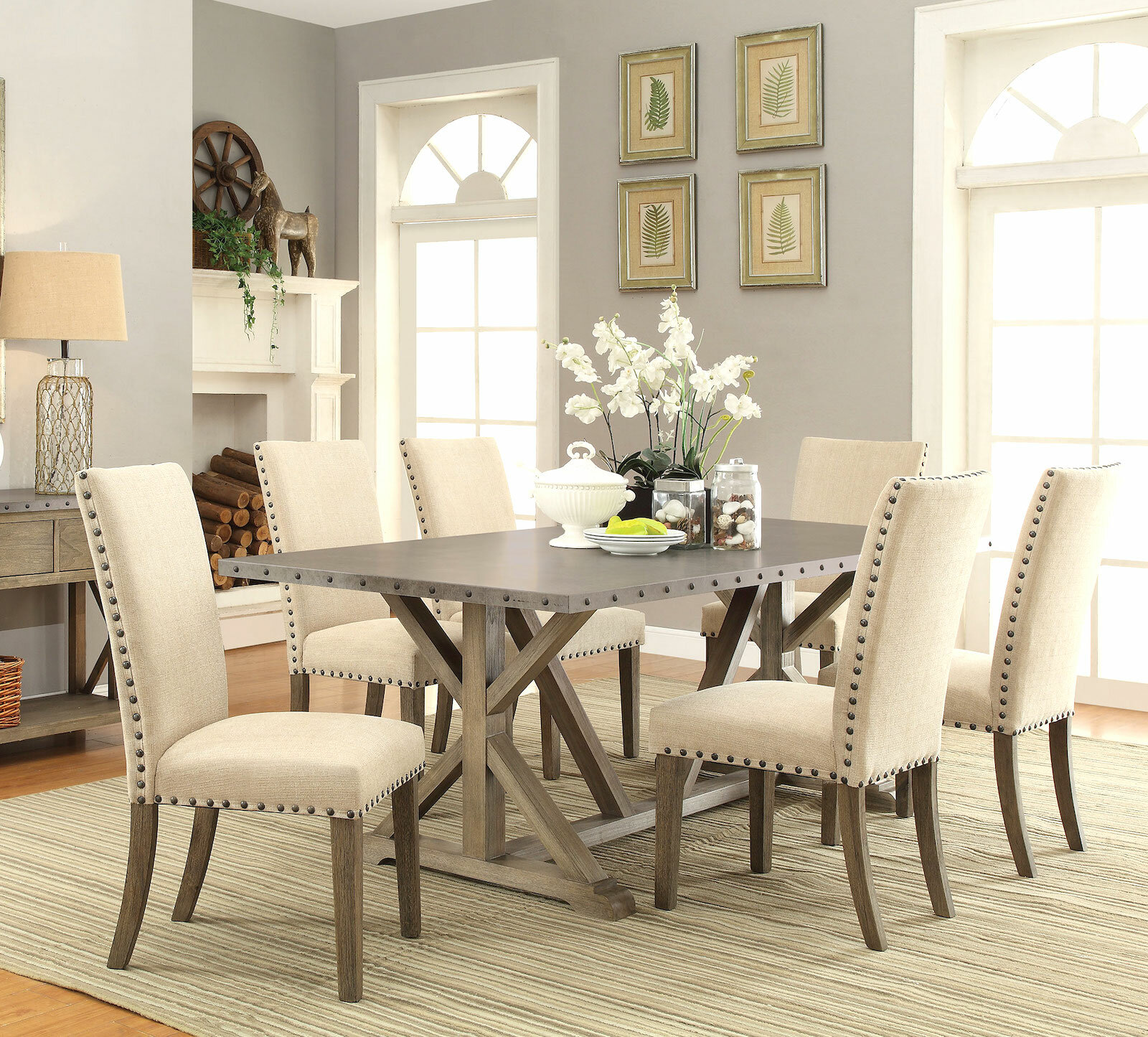 Merveilleux Infini Furnishings Athens 7 Piece Dining Set U0026 Reviews | Wayfair
