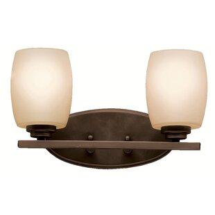 Great Price Esmont 2-Light Vanity Light By Brayden Studio