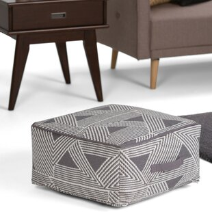 Mitcheldean Pouf by Wrought Studio