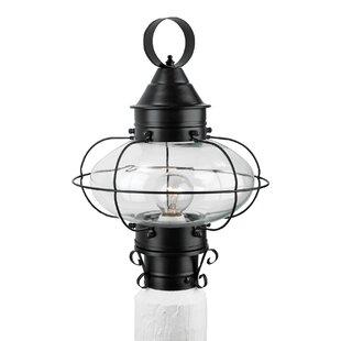 Read Reviews Audun Outdoor 1-Light Lantern Head By Longshore Tides