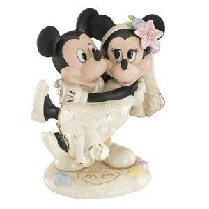 Minnies Dream Beach Wedding Figurine