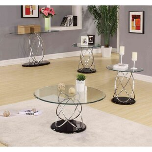 Buy luxury Talkington Contemporary Round Living Room 2 Piece Coffee Table Set By Orren Ellis