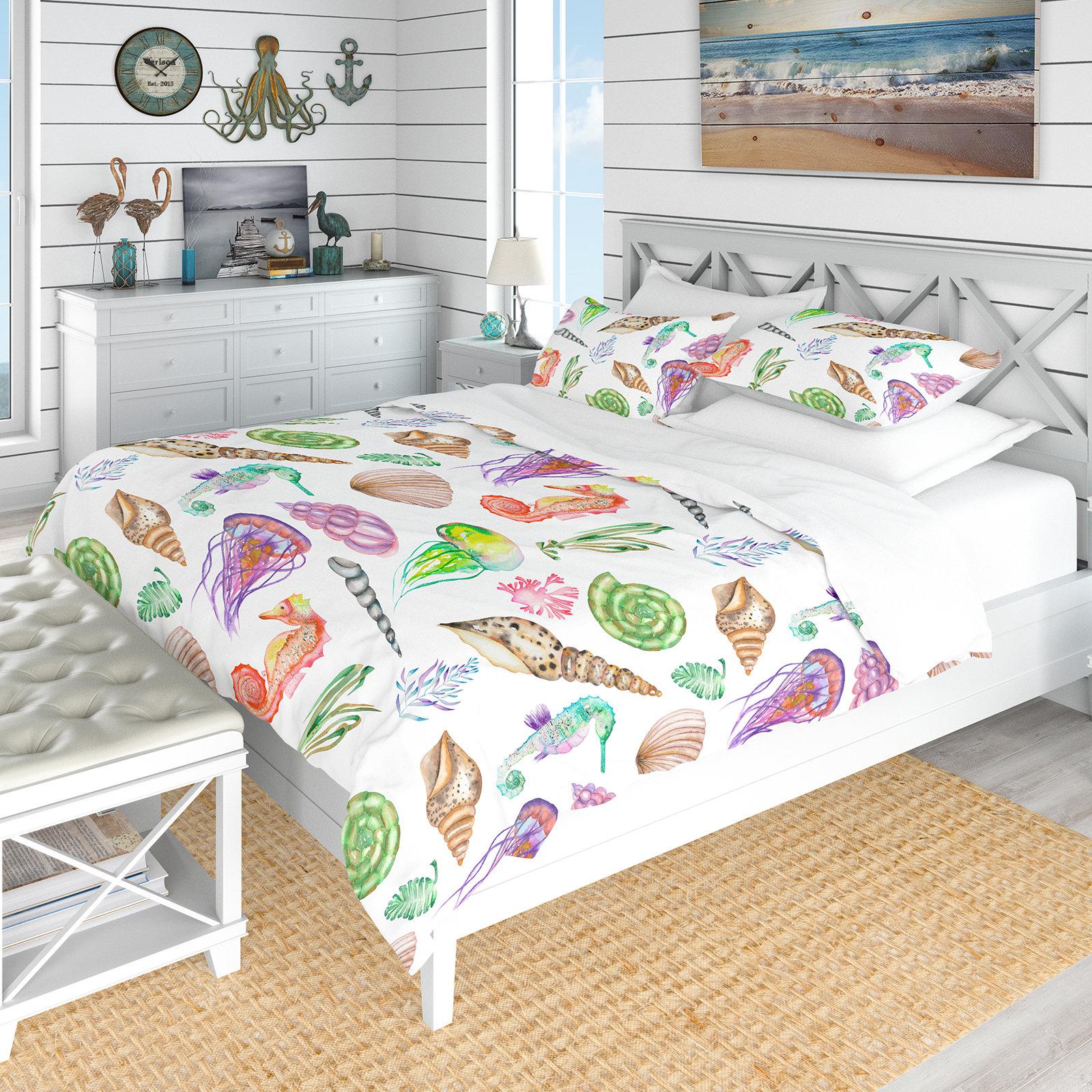 East Urban Home Nautical And Coastal Duvet Cover Set Wayfair