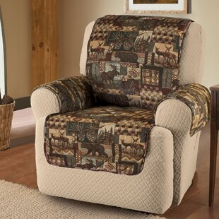 Lodge Box Cushion Recliner Slipcover