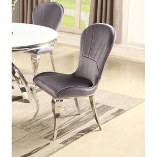 Malachi Upholstered Dining Chair (Set of 2) Orren Ellis