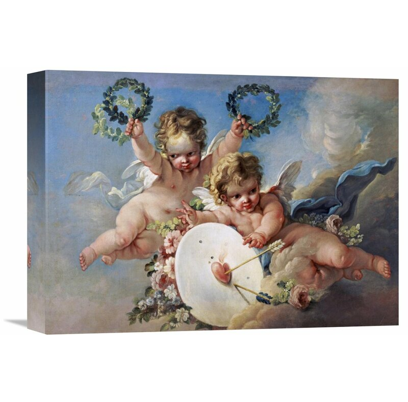 Global gallery la cible damour love target by francois boucher la cible damour love target by francois boucher painting print gumiabroncs Image collections