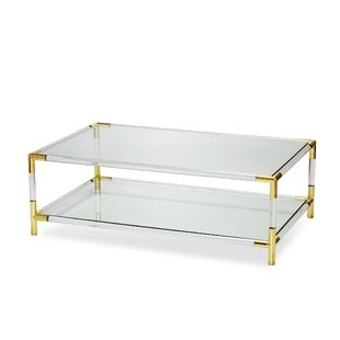 Interlude Julien Rectangular Coffee Table..