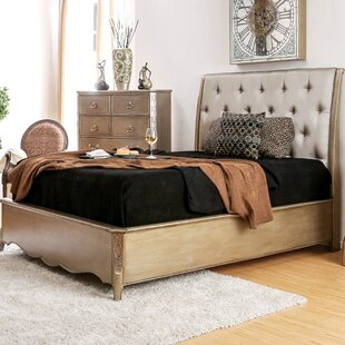 Gisella Upholstered Sleigh Bed