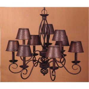 Chalet 9-Light Candle-Style Chandelier