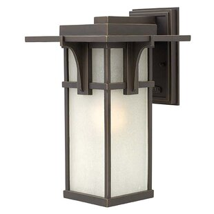 Compare prices Manhattan 1-Light Outdoor Sconce By Hinkley Lighting