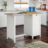 free standing kitchen island You\'ll Love in 2019 | Wayfair