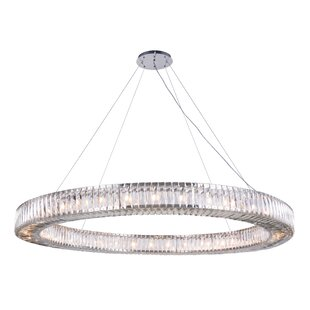 Everly Quinn Isidora 36-Light Crystal Chandelier