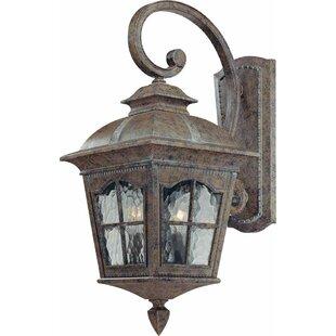 Leeds 2-Light Outdoor Wall Lantern by Volume Lighting