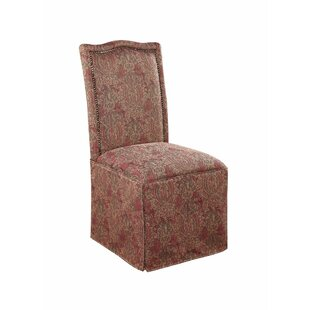 Astoria Grand Forrest Armless Upholstered Dining Chair (Set of 2)