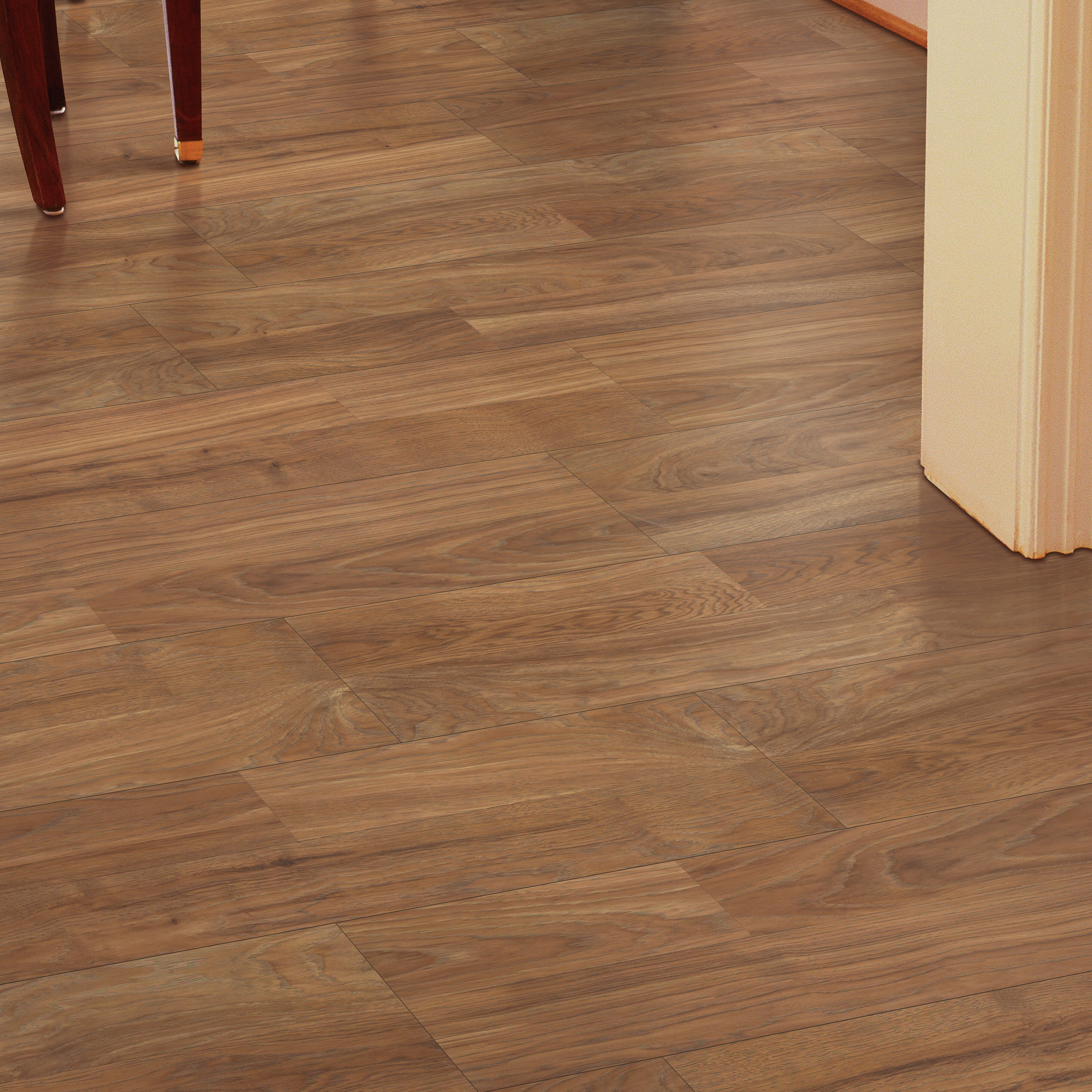 Mohawk Copeland 8 X 47 7 87mm Hickory Laminate Flooring In Honey Wayfair