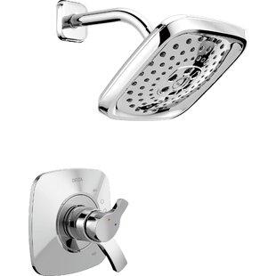 Compare Tesla® Shower Trim with H2okinetic Technology ByDelta