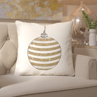 Chic Ornament II Throw Pillow