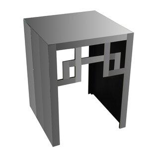 Orren Ellis Gorgi Glass Console Table