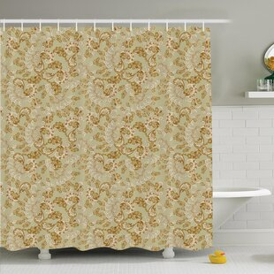 Paisley Bohemian Shower Curtain Set