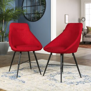 Buy luxury Amir Side Chair (Set of 2) by Langley Street Reviews (2019) & Buyer's Guide