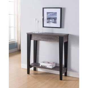 Ebern Designs Mayfield Wooden Console Table