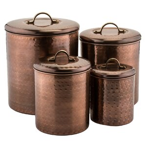 Colorful Kitchen Canisters Sets kitchen canisters & jars you'll love   wayfair