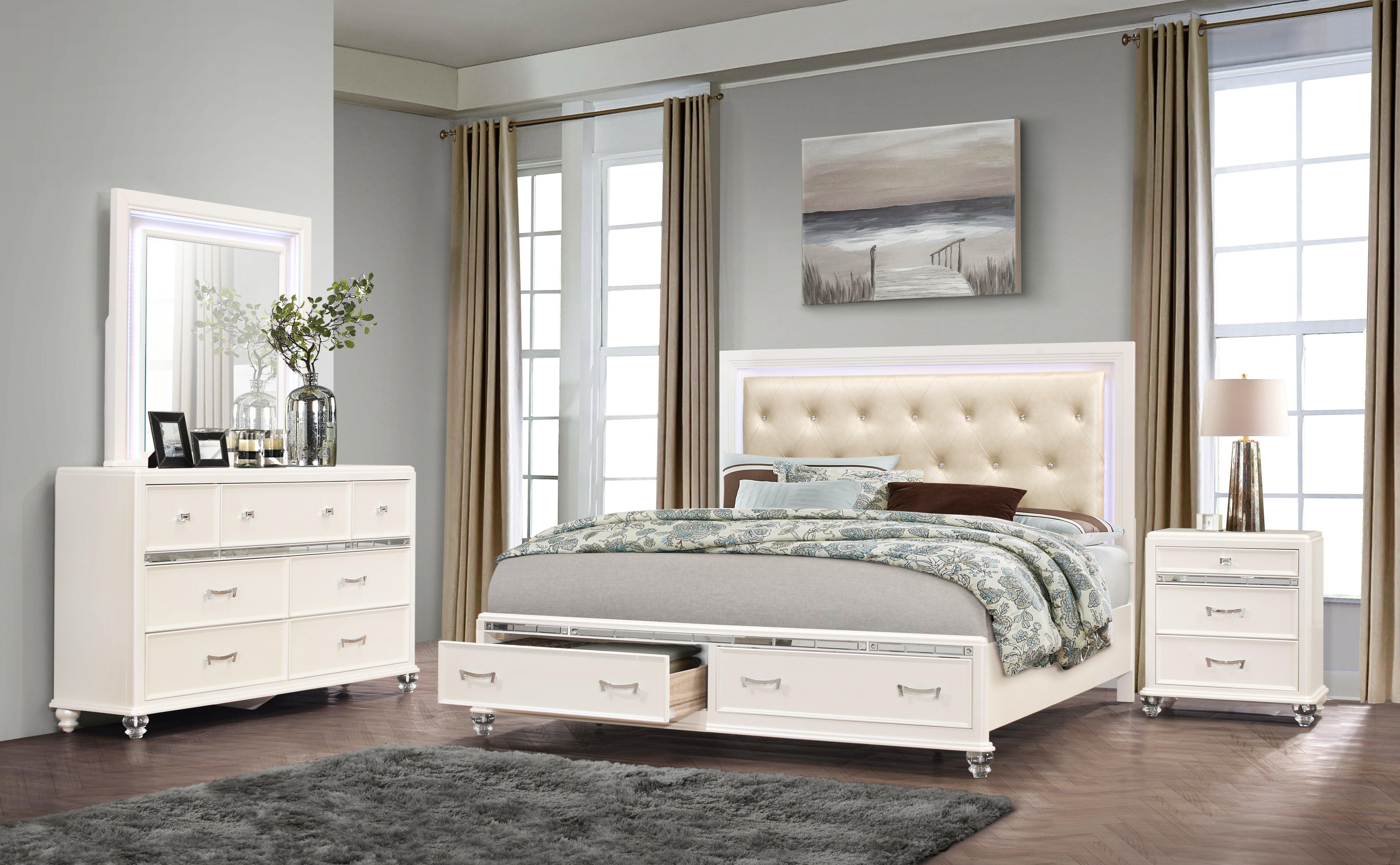 Farrer Platform Configurable Bedroom Set