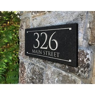 Whitehall Products Address Plaques Signs You Ll Love In 2021 Wayfair