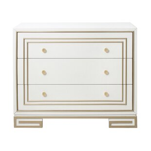Mong 3 Drawer Accent Chest by Everly Quinn