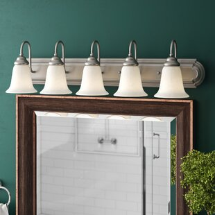Allwood 5-Light Vanity Light by Charlton Home