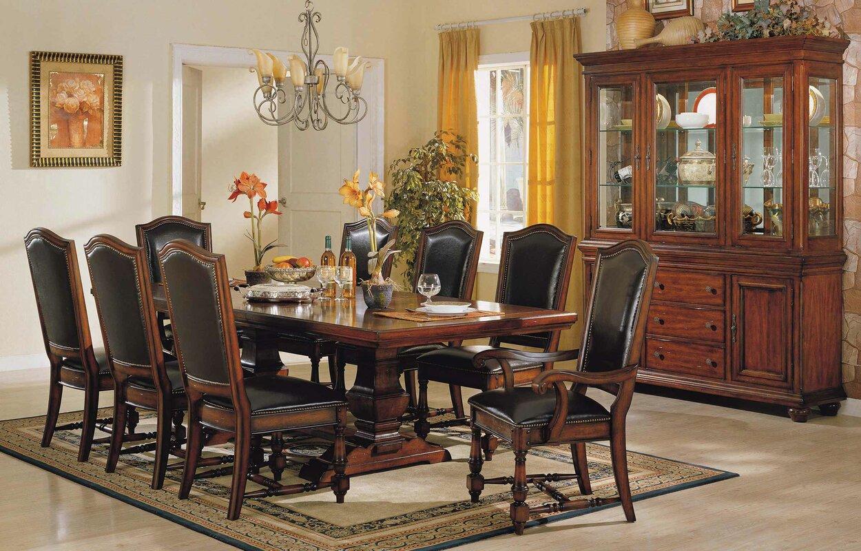 darby home co sellman 9 piece dining set u0026 reviews wayfair