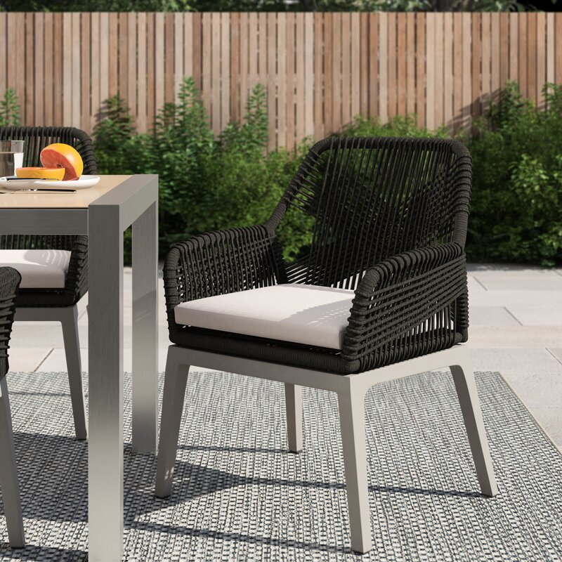Philip Loom Patio Dining Chair