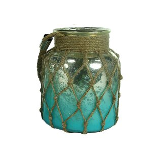 Online Reviews Glass Lantern By Highland Dunes