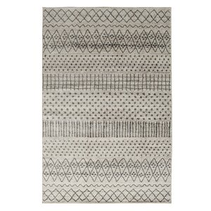 Ernest Dark Gray/Light Gray Area Rug