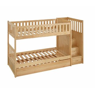 Dustin Staircase Bunk Bed Wayfair