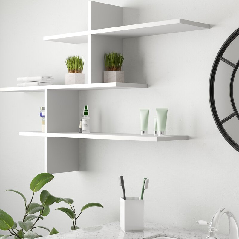 Ivy Bronx Mckelvy Modern Wall Shelf