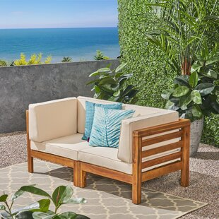 Seaham Loveseat With Cushions