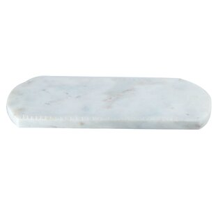 Robstown Marble Stone Oval Serving Tray