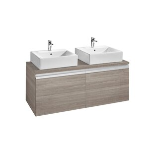Heima 121cm Wall-Mounted Vanity Unit Base By Roca