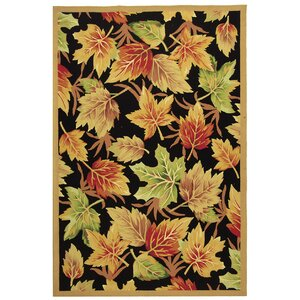 Emiliano Black Windswept Area Rug