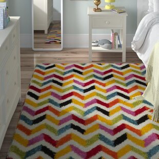 Comparison Kids Yellow/Red Area Rug By Viv + Rae