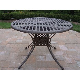 Kingsmill Metal Dining Table b..