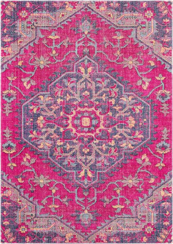 Randhir Pink/Purple Area Rug